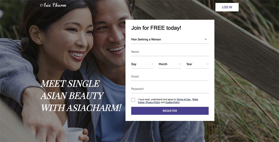 asia charm registration