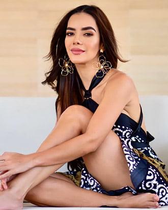elianis garrido beautiful colombian woman